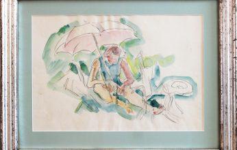 Ivo-Hauptmann-1886-1973-Unterm-Sonnenschirm-Aquarell-ca-1920-346x220.jpg